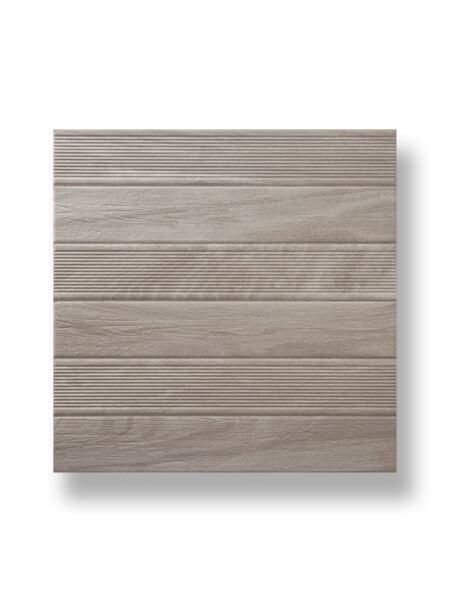 Pavimento imitación madera Vero gris 45x45 cm. la solución perfecta para tus exteriores y alrededores de piscinas, pavimento antideslizante.