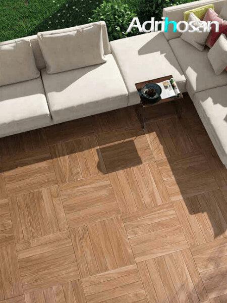 Pavimento imitación madera Tudela haya 45x45 cm (1.42 m2/cj)