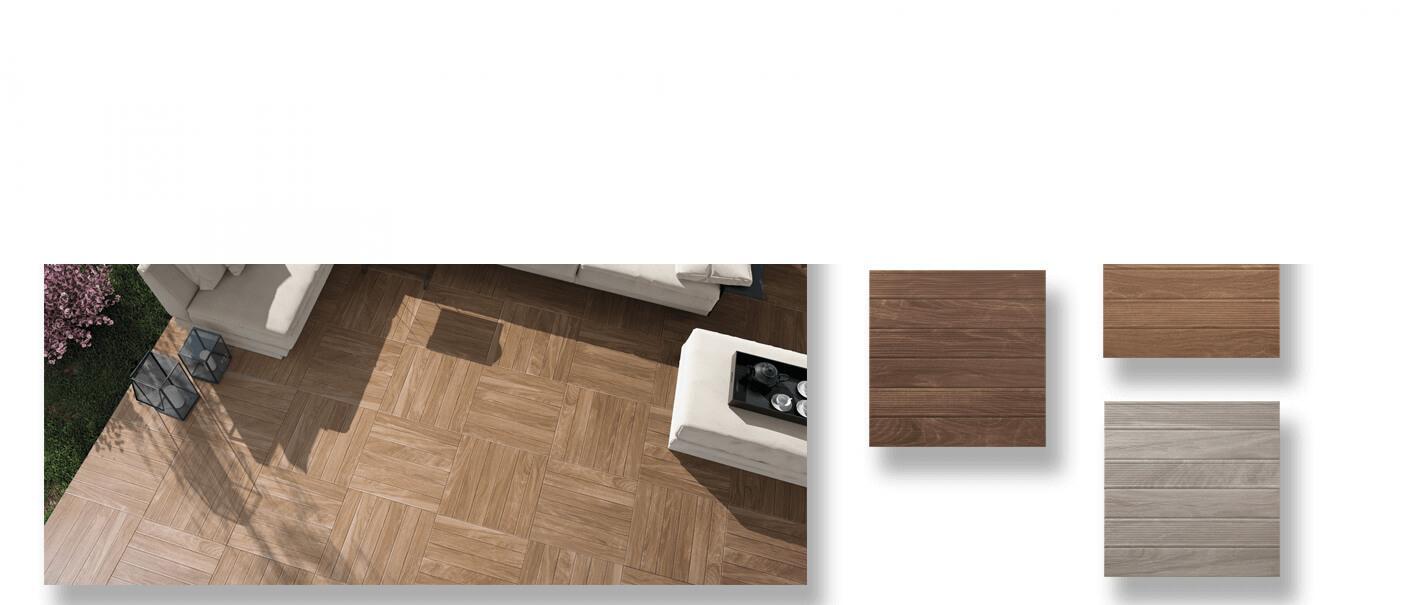 Pavimento imitación madera Vero 45x45 cm. la solución perfecta para tus exteriores y alrededores de piscinas, pavimento antideslizante.