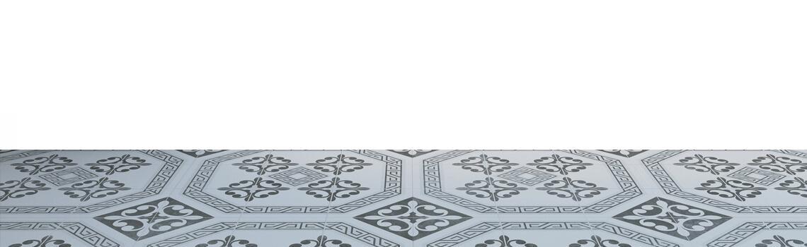 Pavimento porcelánico imitación hidráulico Dool 60x60 cm. Estilos Vintage con formato de azulejo grande que te dará la sensación de azulejo 20x20 cm.