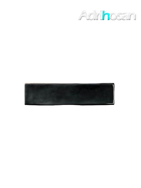 Revestimiento pasta blanca tipo metro Bilbao Negro 7.5x30 cm (0.56 m2/cj)