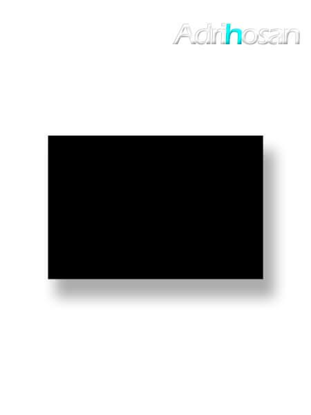 Azulejo liso Negro brillo 20X30 cm (1.56 m2/cj)