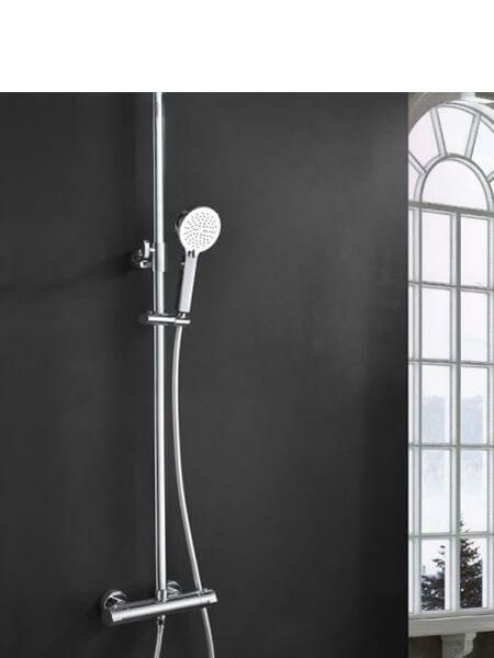 Columna de ducha termostática Benidorm,