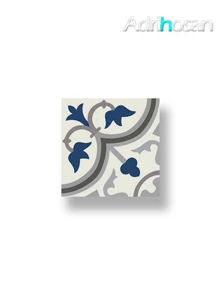 Pavimento imitación hidráulico Classic azul 20x20 cm (1 m2/cj)