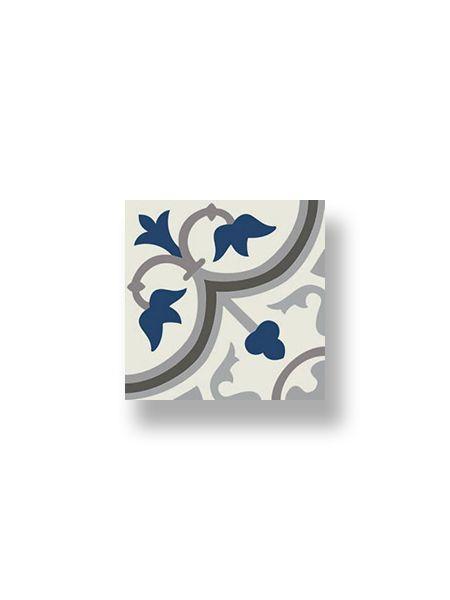 Pavimento imitación hidráulico Classic azul 20x20 cm.