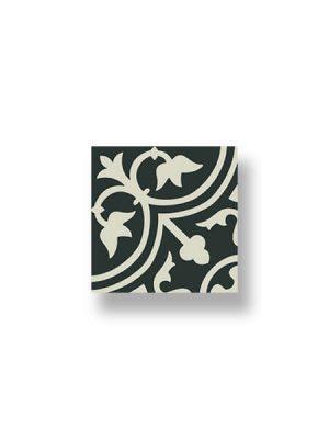 Pavimento imitación hidráulico Classic blanco 20x20 cm.