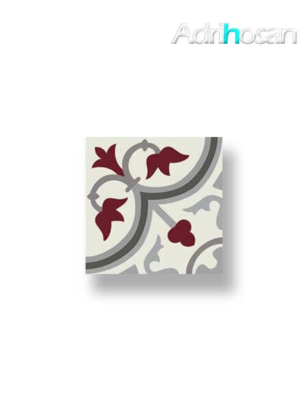 Pavimento imitación hidráulico Classic rojo 20x20 cm (1 m2/cj)