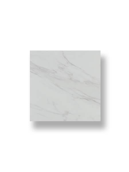 Pavimento porcelánico imitación mármol viterbo blanco 45 x 45 cm.
