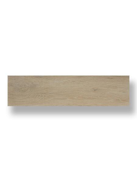 Pavimento porcelánico Legni haya 25x100 cm imitación madera.