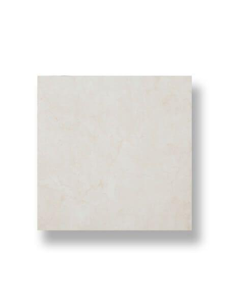 Pavimento porcelánico rectificado Caledonia marfil brillo 75x75 cm.