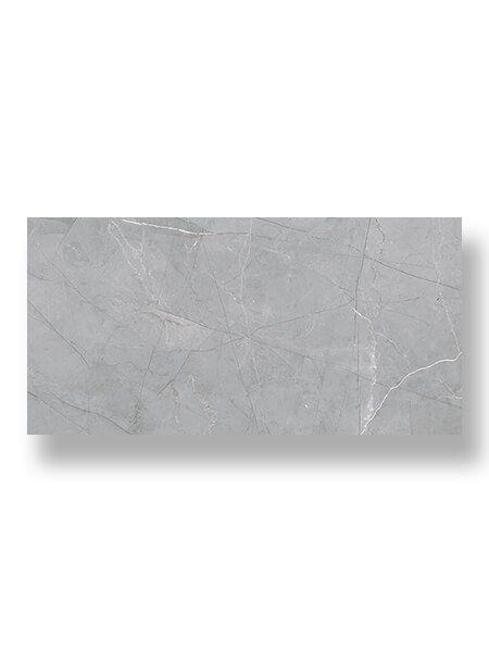 Pavimento porcelánico rectificado Kassia gris mate 45 x 90 cm.