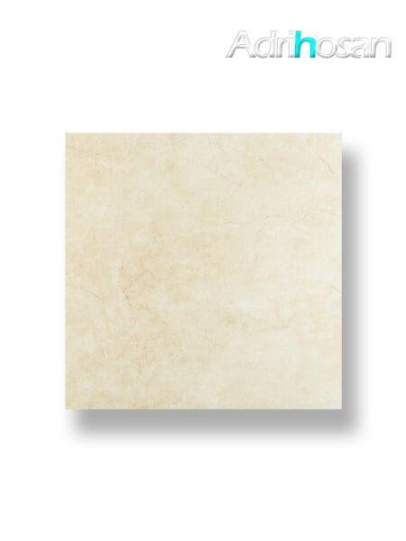 Pavimento porcelánico rectificado Castellón crema brillo 75 x 75 cm (1.69 m2/cj)