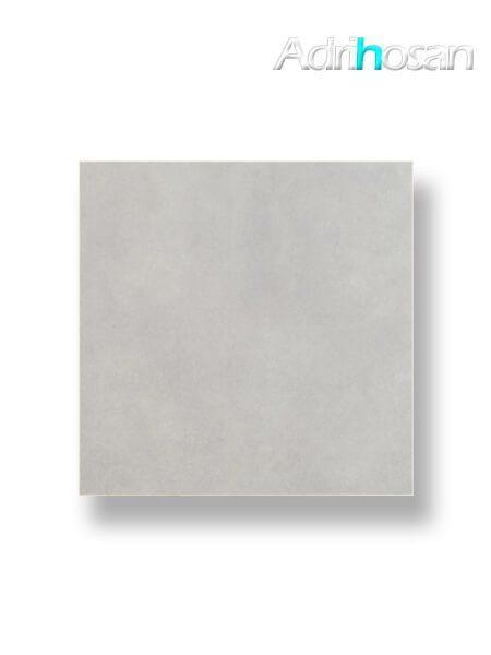 Pavimento porcelánico rectificado Castellón gris brillo 75 x 75 cm (1.69 m2/cj)