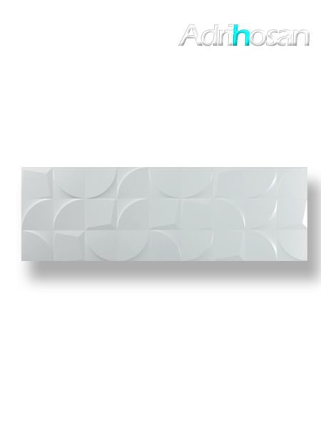Revestimiento decorado glg pasta blanca rectificado blanco mate 30 x 90 cm (1.08 m2/cj)