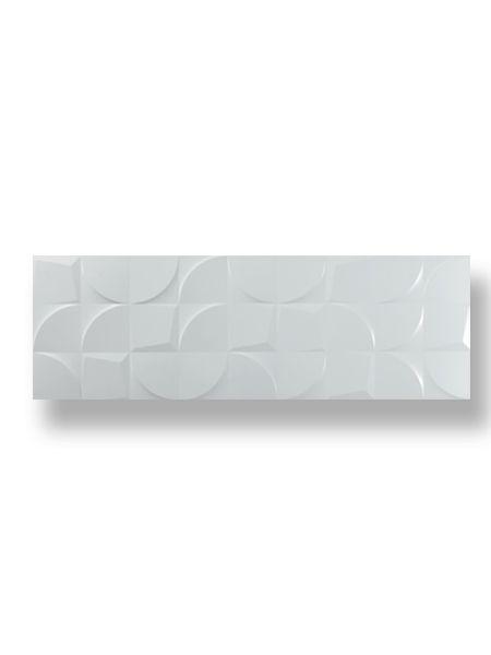 Revestimiento decorado glg pasta blanca rectificado blanco brillo 30 x 90 cm. Ideal para el chapado de baños o cocinas con un acabado de blanco puro en brillo.