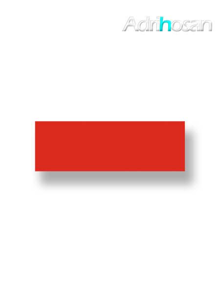 Revestimiento soft rojo brillo 20x60 cm (1.44 m2/cj)