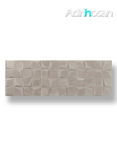 Azulejo decorado pasta blanca rectificado Tulle noce 30x90 cm (1.08 m2/cj)