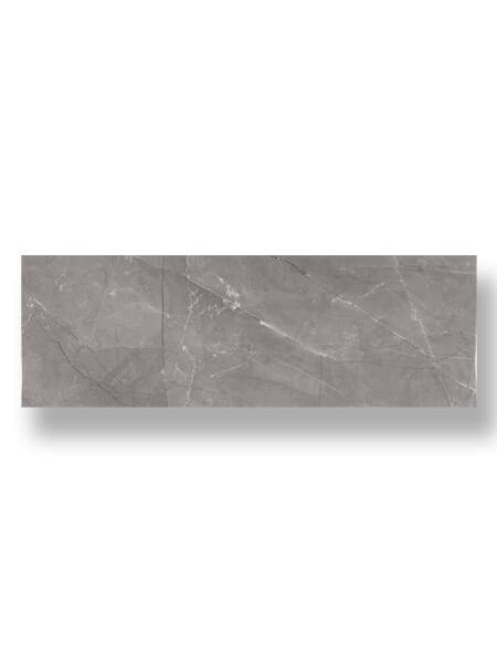 Azulejo pasta blanca rectificado Alivery gris 30x90 cm.