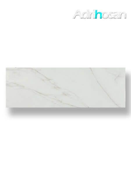 Azulejo pasta blanca rectificado calacatta mate 30x90 cm (1.08 m2/cj)