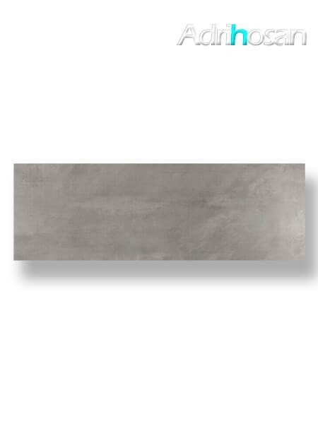 Azulejo pasta blanca rectificado Tulle gris 30x90 cm (1.08 m2/cj)