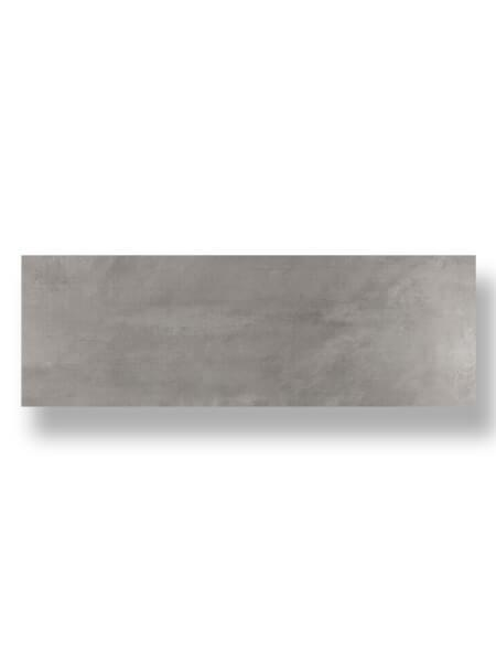 Azulejo pasta blanca rectificado Tulle gris mate 30x90 cm.