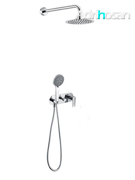 Conjunto de ducha con rociador redondo Sunday