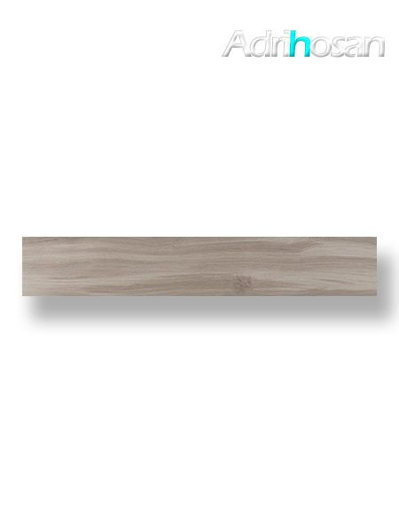 Pavimento porcelánico rectificado Cuellar Gris 20x120 cm (1.44 m2/cj)