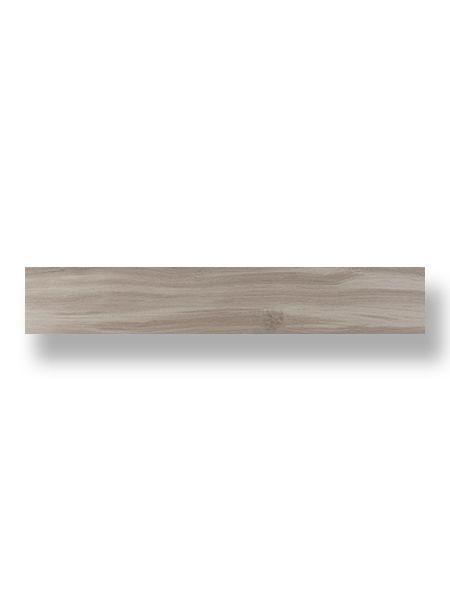 Pavimento porcelánico rectificado Cuellar Gris 20x120 cm.
