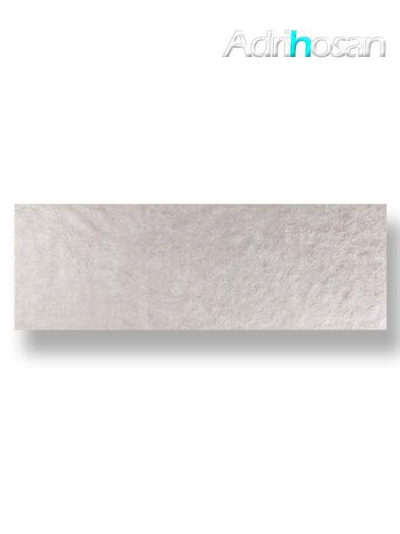 Revestimiento pasta blanca rectificado Arrecife gris mate 40x120 cm (1.44 m2/cj)