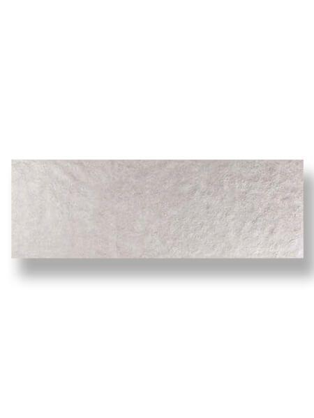 Revestimiento pasta blanca rectificado Arrecife gris mate 40x120 cm.