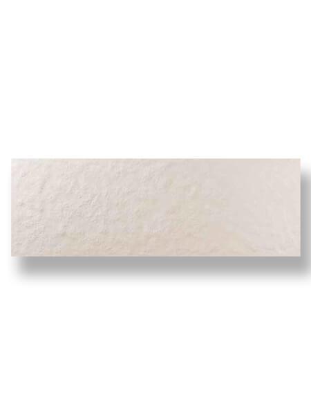 Revestimiento pasta blanca rectificado Arrecife marfil mate 40x120 cm.