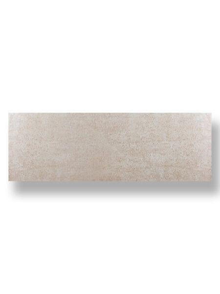 Revestimiento pasta blanca rectificado Sensación crema mate 40x120 cm.