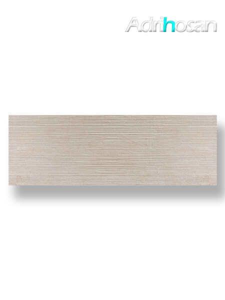 Revestimiento pasta blanca rectificado Sensación decorado crema mate 40x120 cm (1.44 m2/cj)