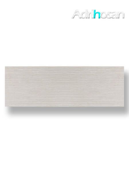 Revestimiento pasta blanca rectificado Sensación decorado marfil mate 40x120 cm (1.44 m2/cj)