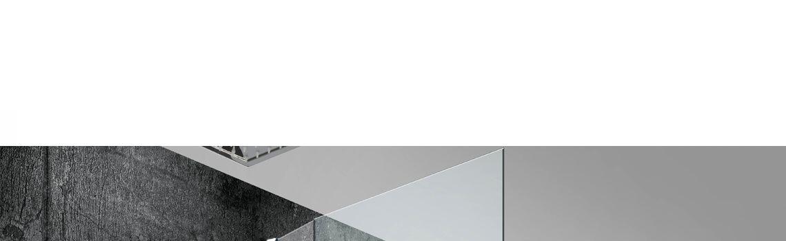 Rociador de ducha cuadrado a techo acero inox RHIN .