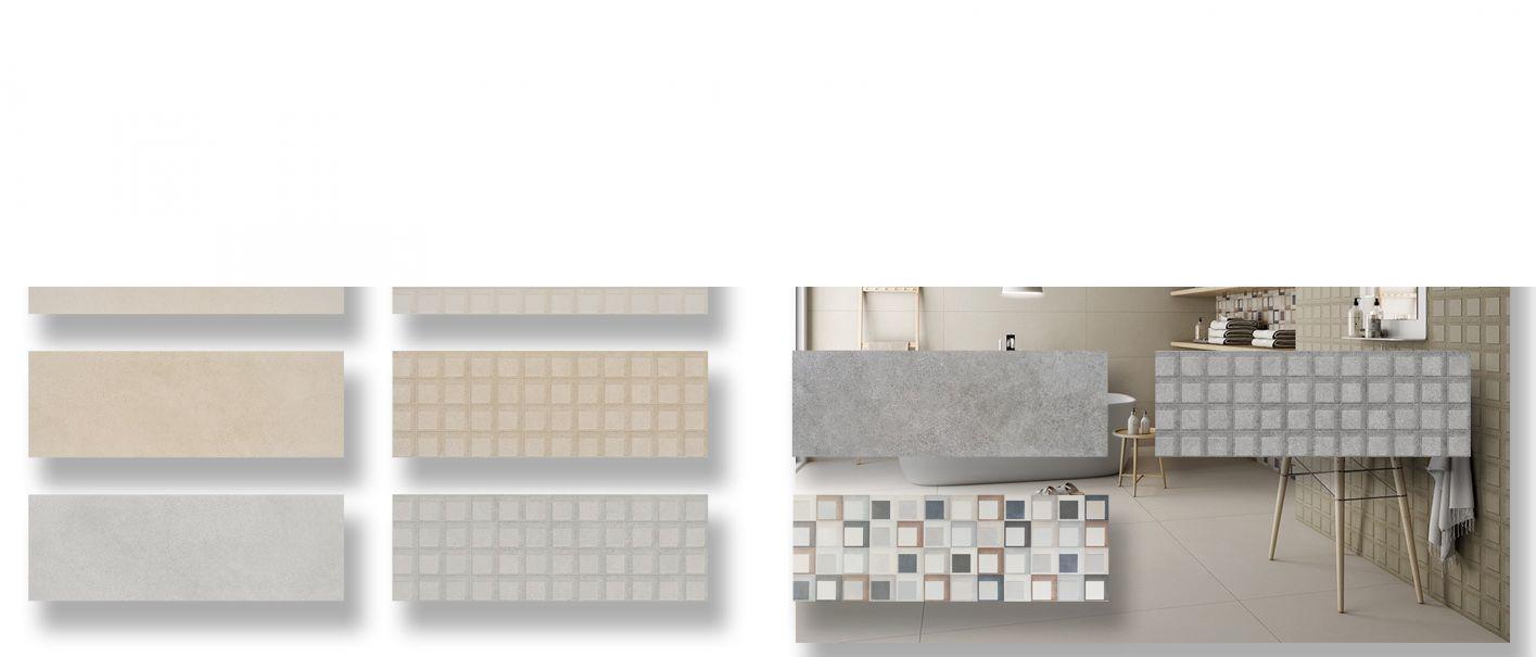 Revestimiento pasta blanca rectificado Brest mate 40x120 cm.