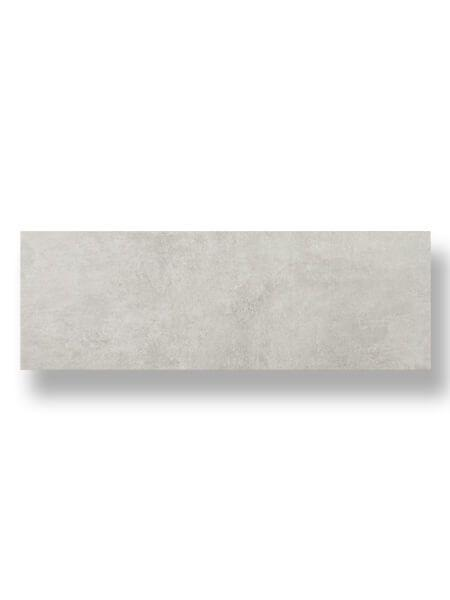 Azulejo pasta blanca rectificado Messei blanco mate 30x90 cm.