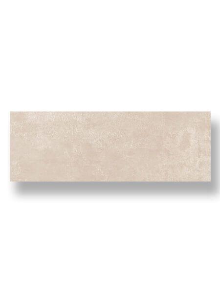 Azulejo pasta blanca rectificado Messei crema mate 30x90 cm.