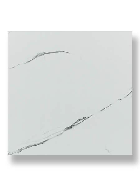 Baldosa porcelánica rectificada Sahara bianco brillo