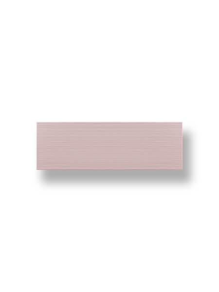 Revestimiento pasta blanca Autum malva brillo 20x60 cm.