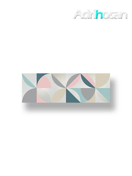 Revestimiento decorado pasta blanca Osh brillo 20x60 cm (1.08 m2/cj)