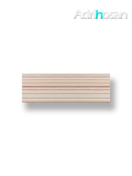 Revestimiento decorado pasta blanca Tamar crema brillo 20x60 cm (1.08 m2/cj)