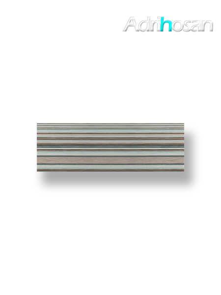Revestimiento decorado pasta blanca Tamar turquesa brillo 20x60 cm (1.08 m2/cj)