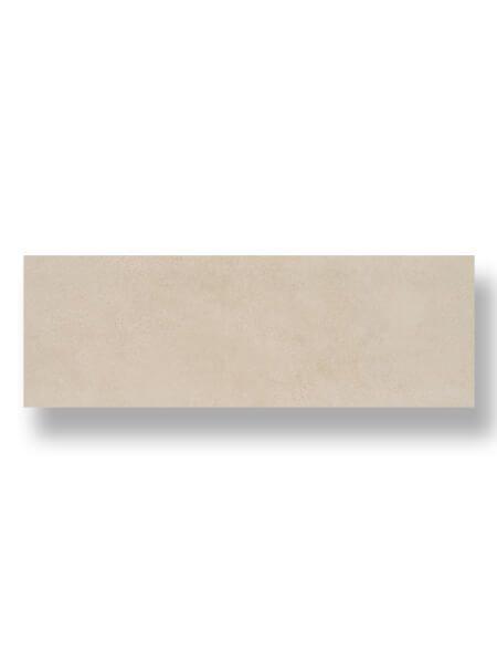 Revestimiento pasta blanca rectificado Brest crema mate 40x120 cm.