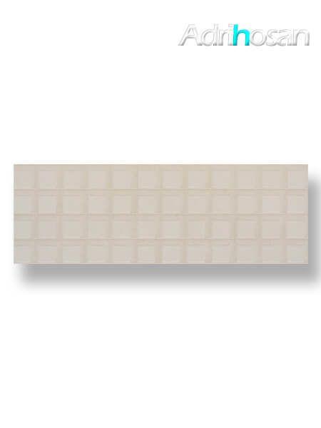 Revestimiento pasta blanca rectificado relieve Brest blanco mate 40x120 cm (1.44 m2/cj)