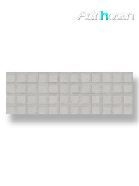Revestimiento pasta blanca rectificado relieve Brest gris mate 40x120 cm (1.44 m2/cj)