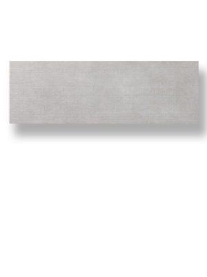 Azulejo pasta blanca rectificado Albufera gris mate 30x90 cm.