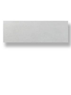 Azulejo pasta blanca rectificado Albufera perla mate 30x90 cm.