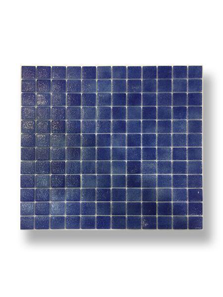Gresite para piscinas tesela 2,5x2,5 cm malla 30x30 cm azul antideslizante N1044