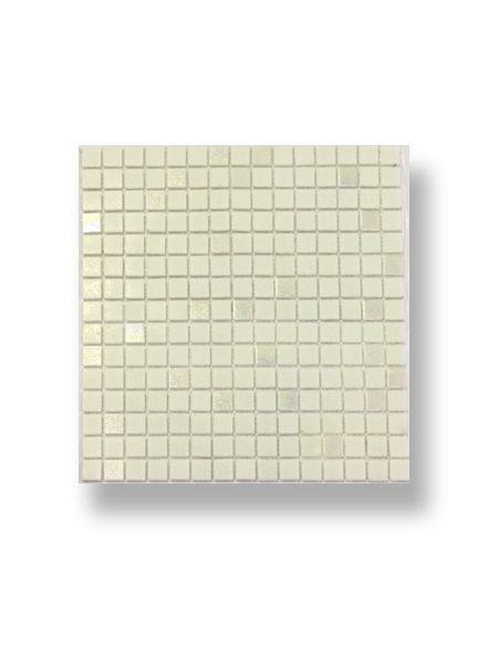 Gresite para piscinas tesela 2x2 cm malla 30x30 cm Blanco nacar A11+PA11